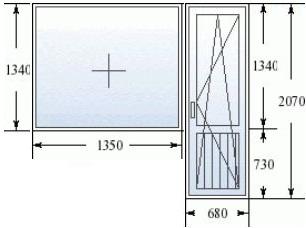 балконный блок в хрущевке
