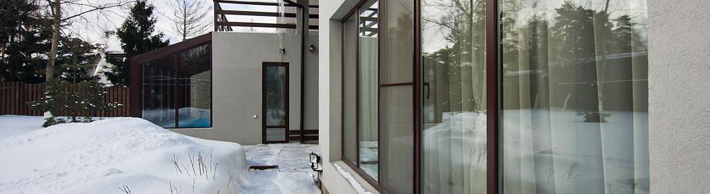 окна пвх в коттедж
