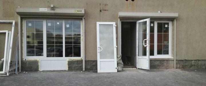 входная дверь в магазин