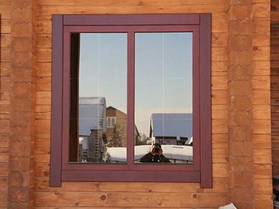 дубовое окно