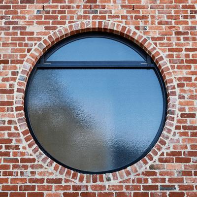алюминиевое круглое окно