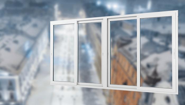 Раздвижные двери ПВХ