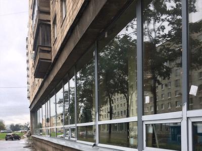пластиковые панорамные окна