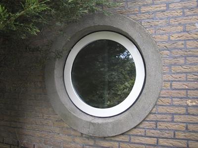 пластиковое круглое окно