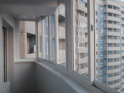 slidors на балконе